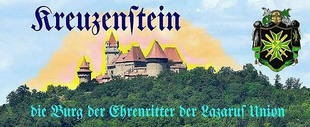 Burg Kreuzenstein Die Burg der Ehrenritter 620 mit Wappen DEU