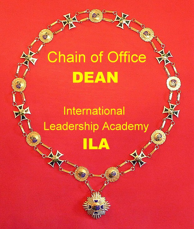 Chain of Office Dean ILA 620 ENG