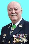 Josef M. Schramm in CSLI-Uniform