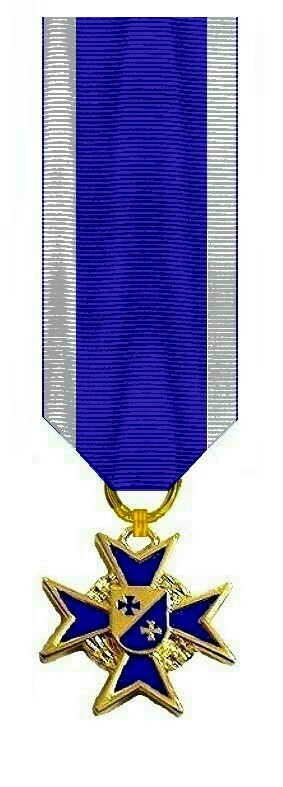 Miniatur Navy Cross Band Kommandeur