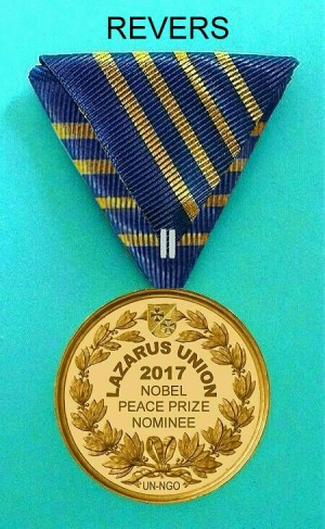 Nomination Medal REVERS geändertes Band 300