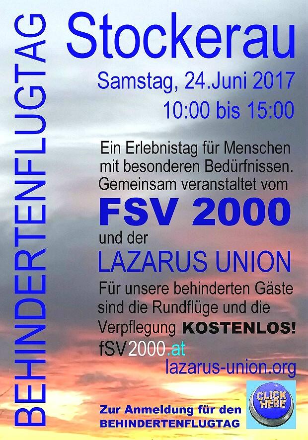 Plakat Behindertenflugtag ROH 620 geschärft