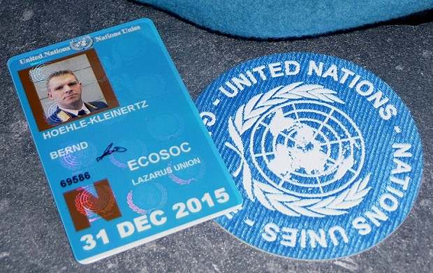 UN Groundpass Bernd Höhle