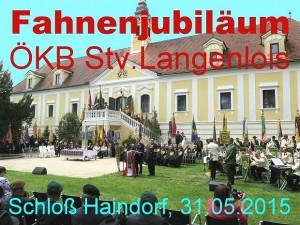 Fahnen Jubiläum ÖKB Stv.Langenlois