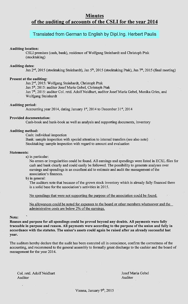 Protokoll Rechnungsprüfer ENG