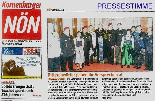 Pressebericht 25.4.2015 01