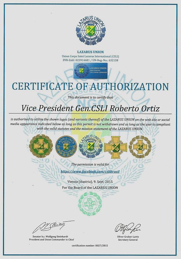 Zertifikat 27