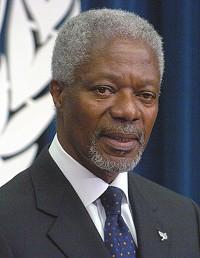 Vortrag von Ex-Generalsekretär der UNOKofi Annan