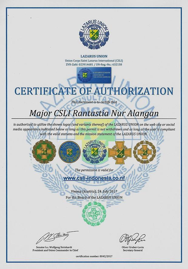 Zertifikat 42