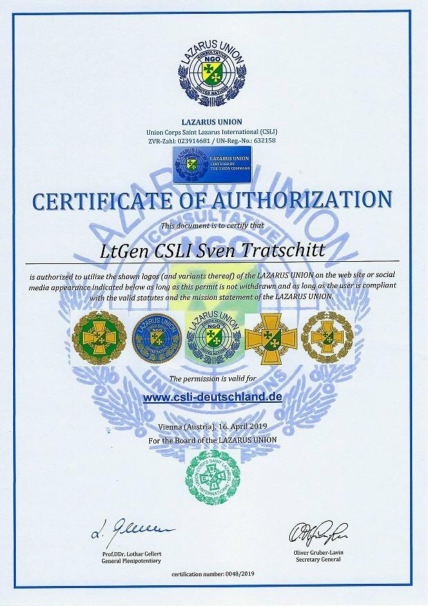 Zertifikat 48