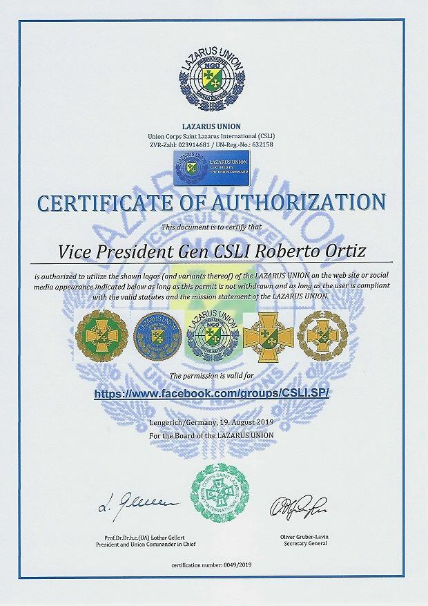 Zertifikat 49