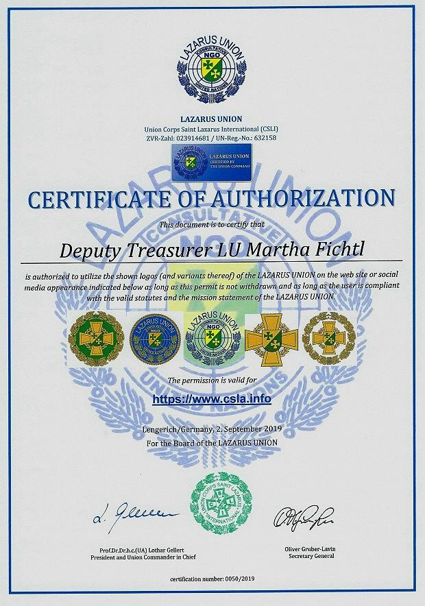 Zertifikat 50