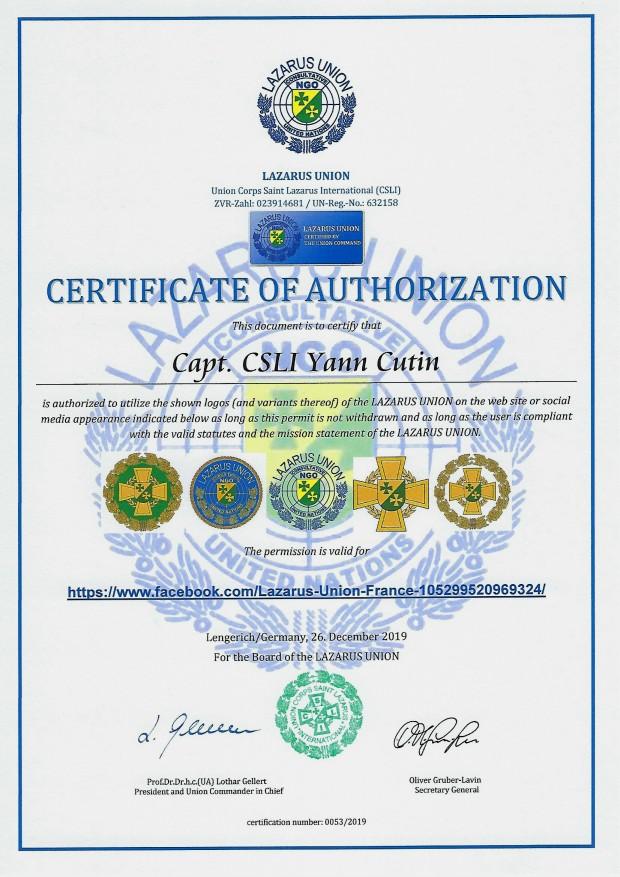 Zertifikat 53