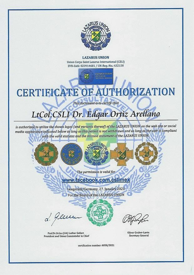 Zertifikat 58