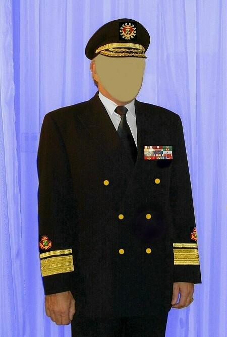 CSLI NAVY Uniform Rear Admiral ohne G 450