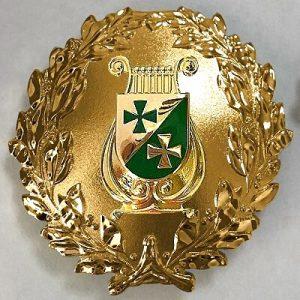Formationsabzeichen GOLD roh 400 MUSIK