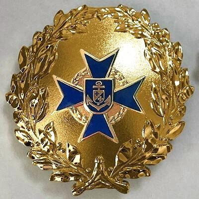 Formationsabzeichen GOLD roh 400 NAVY