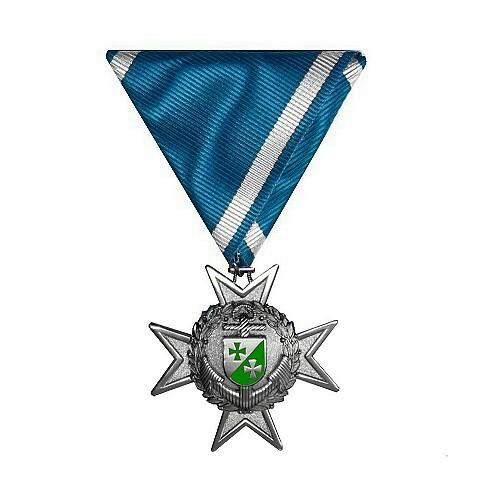 Marinekreuz NEU Silber-Silber 500