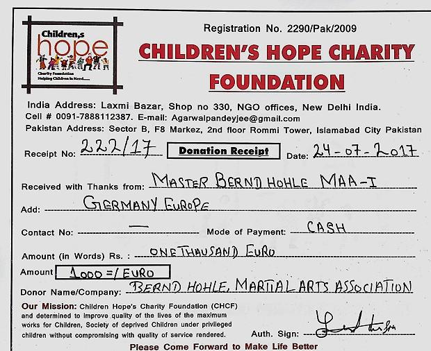 CHCF-Donation Receipt Bernd