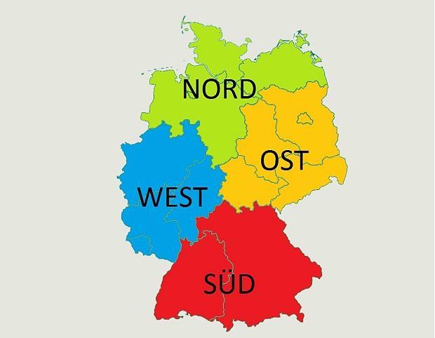 Distrikte Deutschland Uniter 620