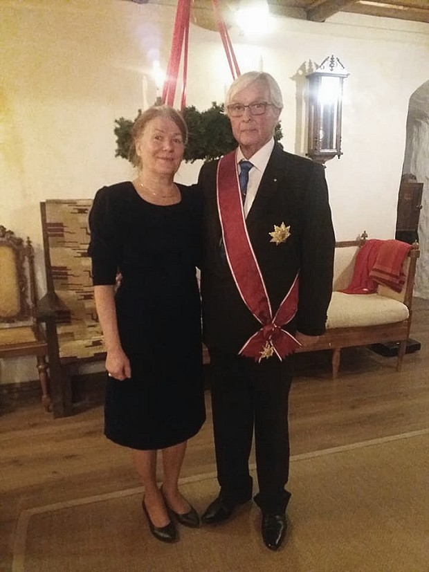 Heikki and his wife Ulla Maija