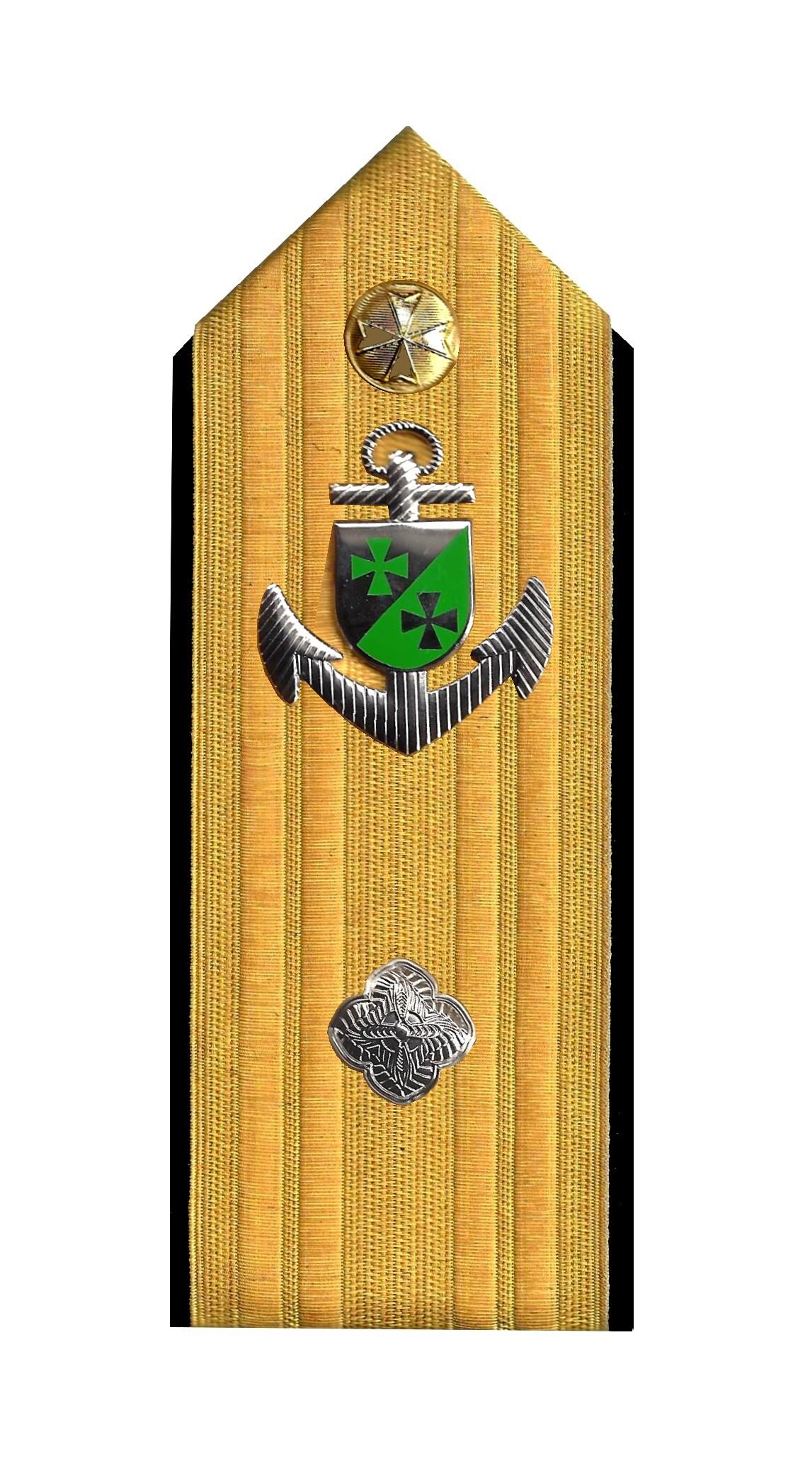 Admiral mit Anker 1 Rosette