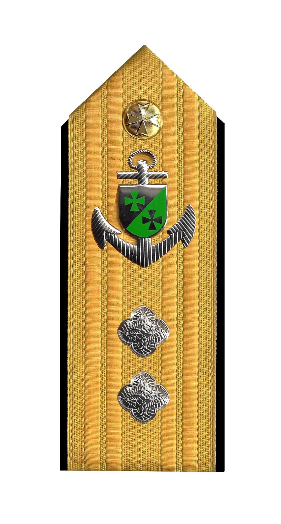 Admiral mit Anker 2 Rosetten