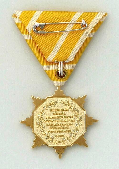 Blessing Medal revers 500