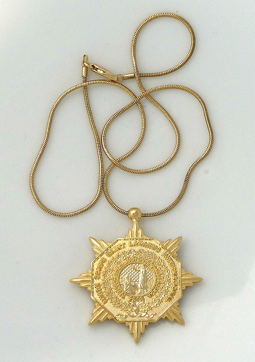 Blessing Medal with chain 500