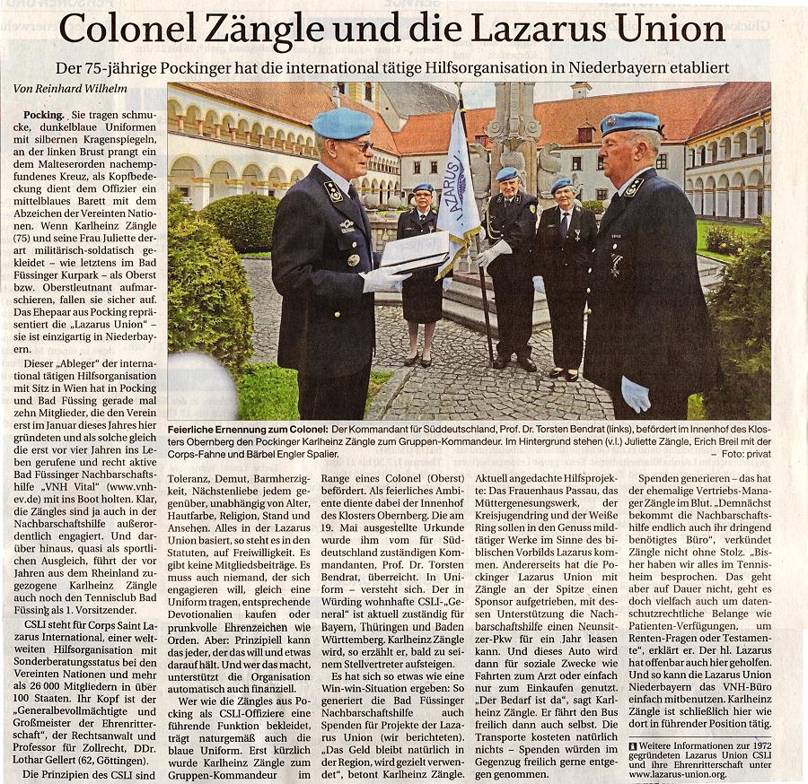 Presseberich LU e.V. Niederbayern