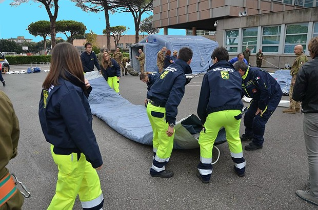 Civil Protection exercise 2-10-2018 n.2