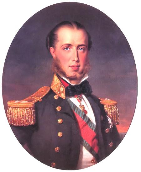 Porträt Maximilian von Mexiko