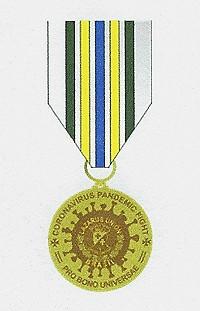 Covid Medallen BRONZE