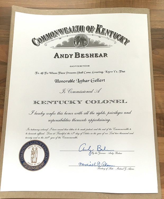 Kentucky Colonel