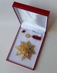 Großer Goldener Ehrenstern mit Etui 200