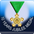 ICON - 10 years jubilee medal